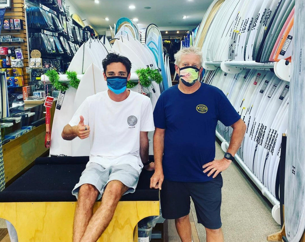 Wicks Is Open For Business For All Your Surfing Essentials