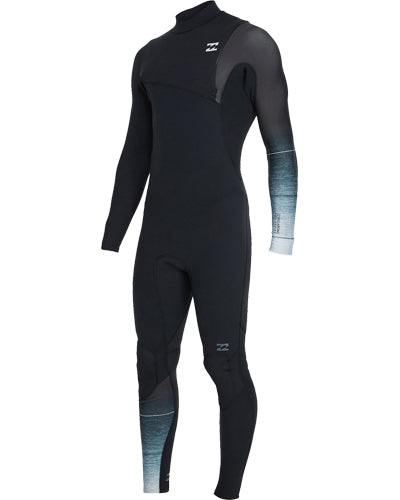 Billabong Men's Pro Series 3/2 Chest-Zip Steamer