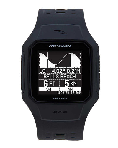 Rip Curl Search GPS 2 Surf Watch - BLACK