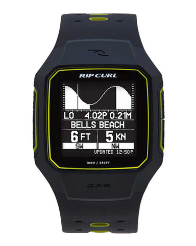 Rip Curl Search GPS 2 Surf Watch - YELLOW