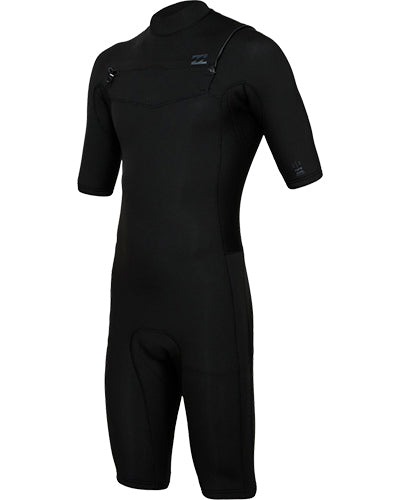 Billabong Men's Revolution 2/2mm Chest Zip Spring Suit