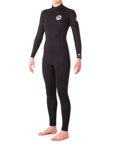 Rip Curl Women's Dawn Patrol 4/3 Back-Zip Full Suit
