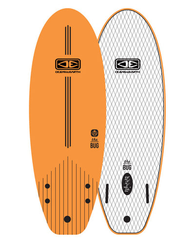 "Ezi Rider - The Bug Mini 5'2"" (62"")"