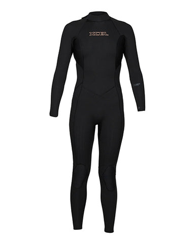 Xcell Women's 3/2 Comp Full Suit Back Zip