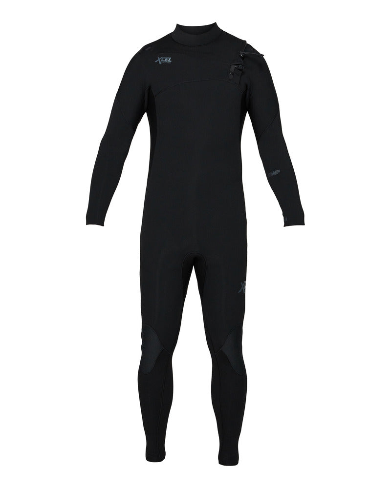 Xcell Men's Comp 3/2 Full Suit Chest Zip