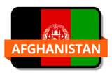 Afghanistan State Flags Stickers