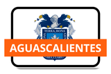 Aguascalientes State Flags Stickers