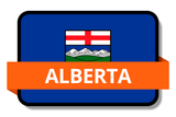 Alberta AB Online Stickers (Label) Shop Auto Car LandsAndPoeple.com
