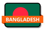 Bangladesh State Flags Stickers