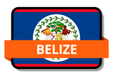 Belize State Flags Stickers