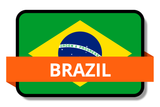 Brazil State Flags Stickers