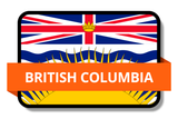 British Columbia BC Online Stickers (Label) Shop Auto Car LandsAndPoeple.com