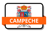 Campeche State Flags Stickers