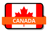 Canada State Flags Stickers