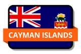 Cayman Islands State Flags Stickers