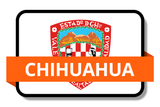 Chihuahua State Flags Stickers