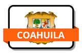 Coahuila City Names Stickers
