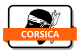Corsica State Flags Stickers