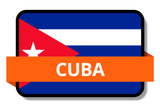 Cuba State Flags Stickers