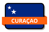 Curacao State Flags Stickers