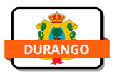 Durango State Flags Stickers