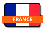 France State Flags Stickers