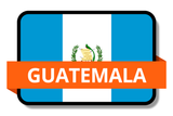Guatemala State Flags Stickers