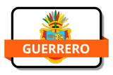 Guerrero State Flags Stickers
