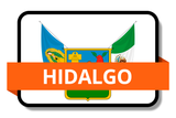Hidalgo State Flags Stickers
