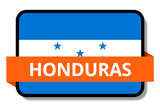 Honduras State Flags Stickers