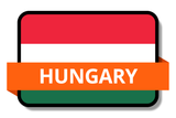 Hungary State Flags Stickers