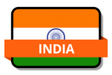 India State Flags Stickers