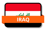 Iraq State Flags Stickers