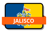 Jalisco State Flags Stickers