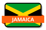 Jamaica State Flags Stickers