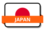 Japan State Flags Stickers