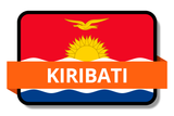 Kiribati State Flags Stickers