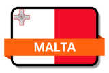 Malta State Flags Stickers