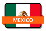 Mexico State Flags Stickers