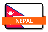 Nepal State Flags Stickers
