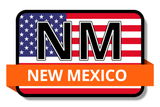 New Mexico State Flags Stickers