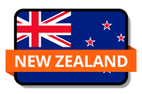 New Zealand State Flags Stickers
