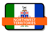 Northwest Territories NT Online Stickers (Label) Shop Auto Car LandsAndPoeple.com