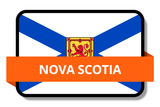 Nova Scotia NS Online Stickers (Label) Shop Auto Car LandsAndPoeple.com