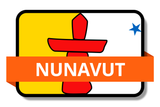 Nunavut NU Online Stickers (Label) Shop Auto Car LandsAndPoeple.com
