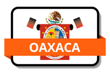 Oaxaca State Flags Stickers
