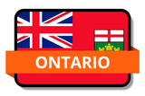 Ontario ON Online Stickers (Label) Shop Auto Car LandsAndPoeple.com