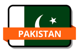 Pakistan State Flags Stickers