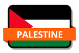 Palestine State Flags Stickers