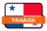Panama State Flags Stickers